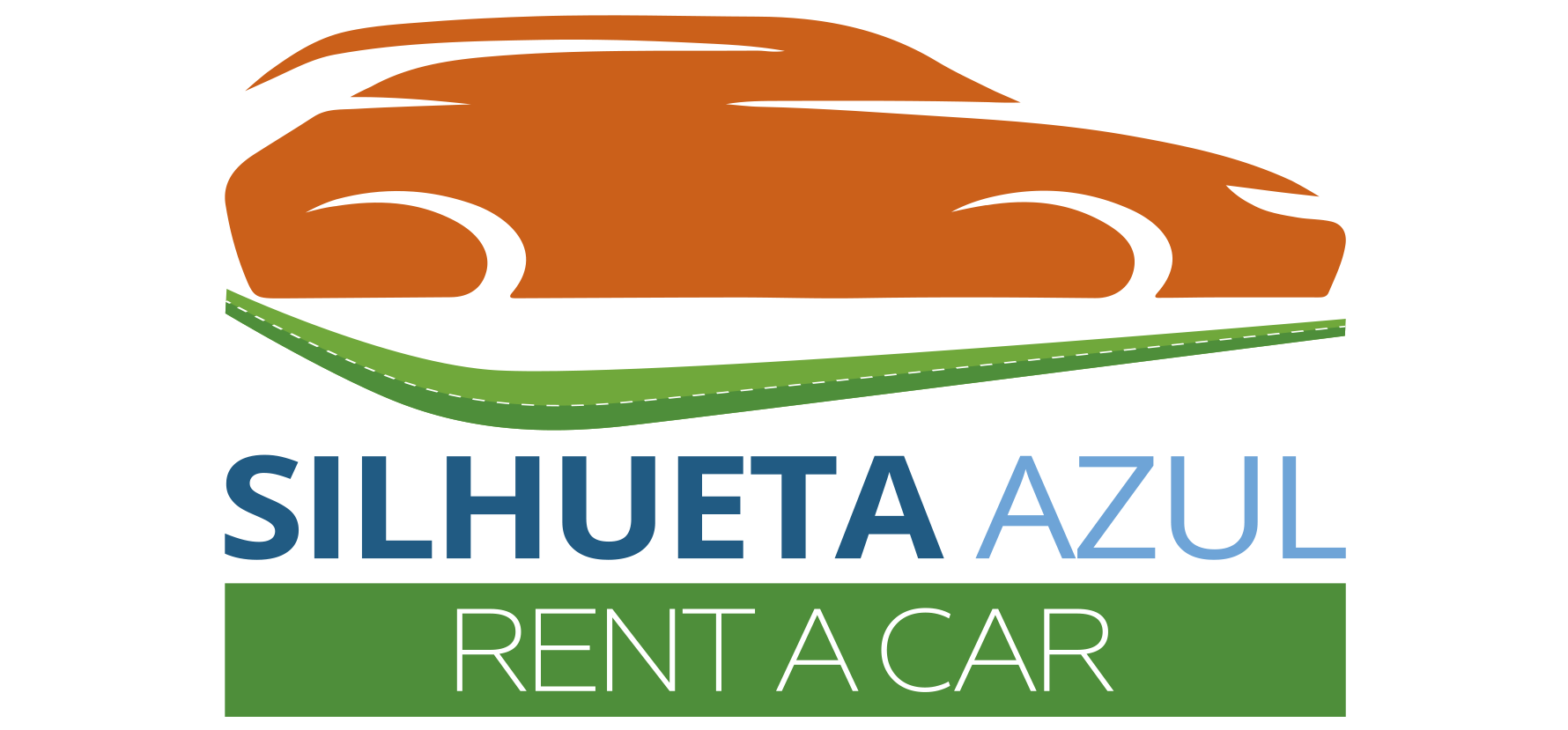 Silhueta Azul Rent a Car
